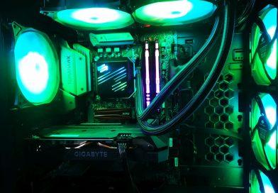 Komputer dla gracza luty/marzec 2020 r. Fortnite, CS Go, i5 9600KF RTX 2060, 16 Gb DDR4, SPC Navis ARGB, NVMe, Regnum RG6V Evo TG ARGB ( 5 026,99 zł )