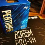 Komputer do biura za 1300 zł styczeń 2021 r. Pentium Gold G5420, 8 Gb 2666 Mhz, MSI B365M PRO-VH, Kingston A2000 500 GB M.2 2280